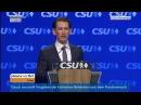 CSU Parteitag Gastrede von Sebastian Kurz am 04 11 2016