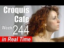 Croquis Cafe: Figure Drawing Resource No. 244