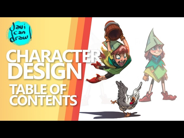 HOW TO DRAW CHARACTER DESIGN MASTERLIST
