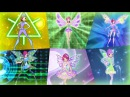 Winx Club Tecna All Full Transformations up to Tynix HD YouTube