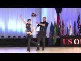 US Open 2014 Classic Miguel de Sousa and Yenni Setiawan