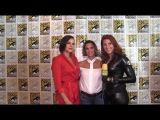 Lana Parrilla & Gabrielle Andwar (Once Upon A Time) at San Diego Comic-Con 2017