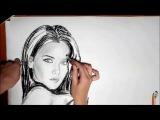 Портрет Натальи Орейро от  Annet_Portret. Drawing Natalia Oreiro