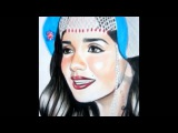 Портрет Наталии Орейро от Annet_Portret. Natalia Oreiro. drawing