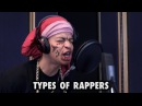 TYPES OF RAPPERS IN THE STUDIO