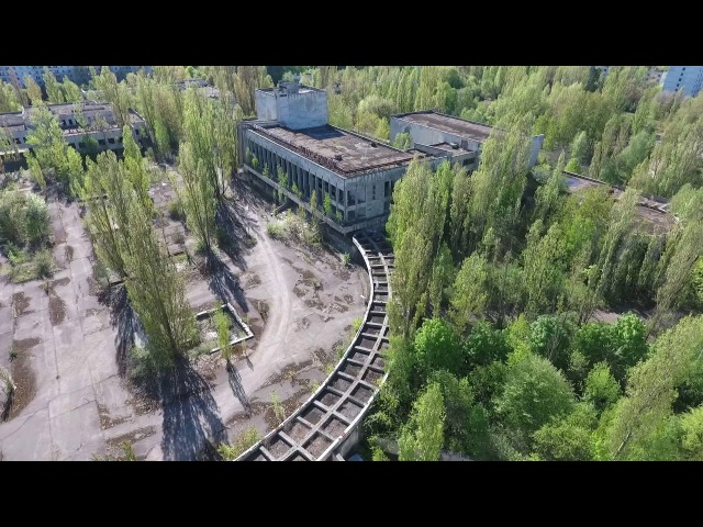 Уникальные съемки Припяти с дрона Unique shooting of Pripyat and Chernobyl Drone Footage Full HD