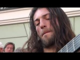 Best Street Guitar Player Ever! (The Song of the Golden Dragon 🎇 Estas Tonne )