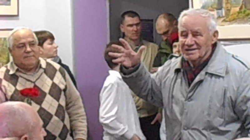 25.2.2017 Крым. Феодосия. Выставка акварелей Аркадия Малышева (5)