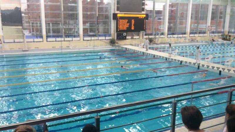 Город 2016- эстафета 4х50 м комплексное плавание мальчики