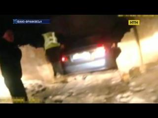 П'яні перегони з поліцією на вулицях Івано-Франківська.