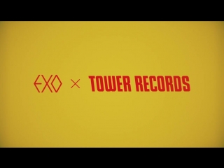 2016 WINTER SALE EXO × TOWER RECORDS