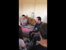 Президент Сирии Башар Аль Асад и его семья посетили раненого героя САА Фатера Хассана Аль Мансура в провинции Хама