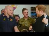 Принц Гарри и Кайли Миноуг игра lnvictus Games 2018 в Сиднее