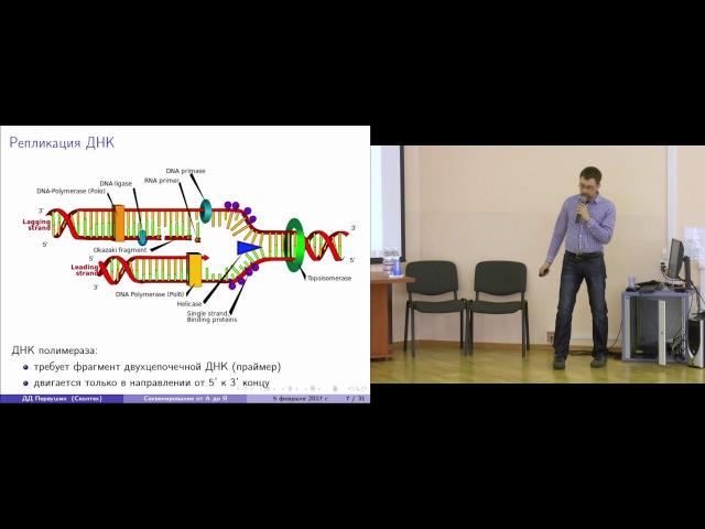 [ЗШ 2017]: Секвенирование от А до Я: обзор высокопроизводительных методов