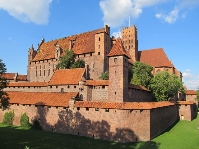 Замок Тевтонского ордена в Мальборке (Мариенбург)