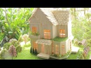 How to make Popsicle Stick House and Garden