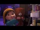 Короткометражный добрый мультик Лили и Снеговик.