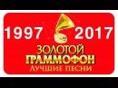 Золотой Граммофон Русское Радио - Лучшее. с 1997 года - по 2017 год.