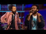 Donald Glover & Reggie Watts Make Music