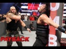 Braun Strowman attacks Roman Reigns at WWE Payback 2017 Highlights