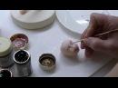 Фигурка из мастики Кондитер Figurine of sugar paste Confectioner