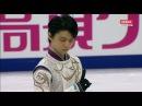 Yuzuru Hanyu (JAPAN)羽生結弦 Free skating-Grand Prix Rostelecom Cup in Moscow HD 21.10.2017