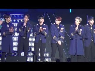 161130 광명 러브콘서트 - real V 제복 빅스(VIXX R 앨범소개, LK 햇빛 눈이 부신 날에~) byRV