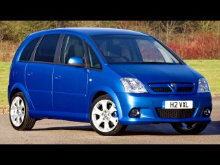 Vauxhall Meriva VXR A '2006–10