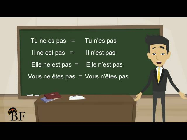 Урок французского языка 10 с нуля для начинающих: отрицательная форма во француз » Freewka.com - Смотреть онлайн в хорощем качестве