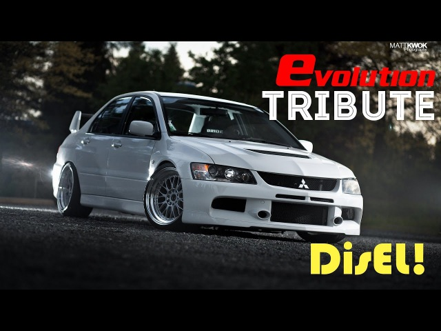 Mitsubishi Lancer Evolution Tribute. BEST OF EVO