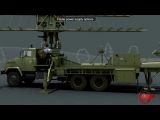 РЛС МР-18 НВК скра  High-mobility meter wave range radar MR-18