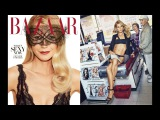 Gwyneth Paltrow Shows off SIX Packs Abs and more for Harper's Bazaar | Mother of 2 Children| WOW!
