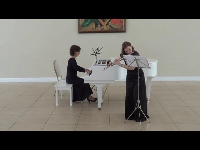G. Platti, Sonate for flute in e minor