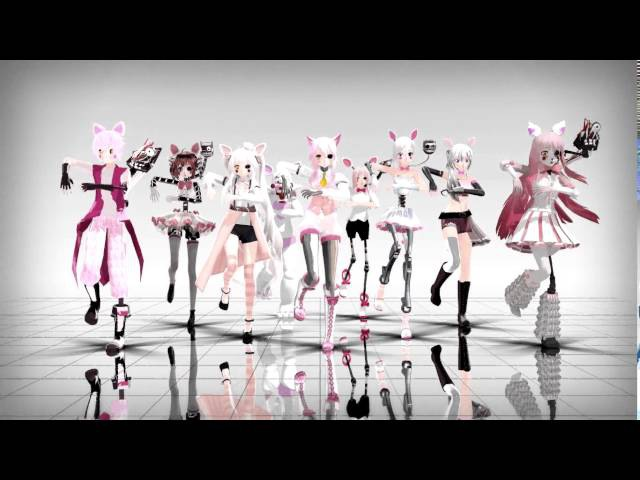 [MMD Five Nights At Freddy's 2]TOO MANY MANGLE MODELS