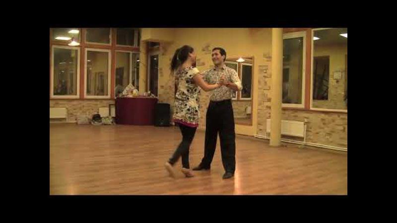 Cristian Correa - Miriam Copello en Vigor Tango, milonga, Милонга Седьмое небо