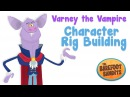 Character Rig Building in Flash 'Vampire' Time lapse