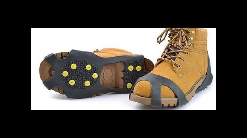 Шипы на обувь Ледоходы ледоступы антилед антискользители зимняя подкова зим