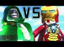 Lego Marvel Super Hero - Lego Ironman vs Doctor Doom