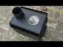 Знаменитая Вятская Буржуйка на 50 кубов с дожигом дешёвая толстая мобильная в кунг подходящая
