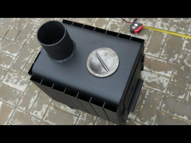 Знаменитая Вятская Буржуйка на 50 кубов: с дожигом! дешёвая! толстая! мобильная! в кунг подходящая!
