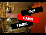 What do the crew cabins look like! (On cruise ships)
