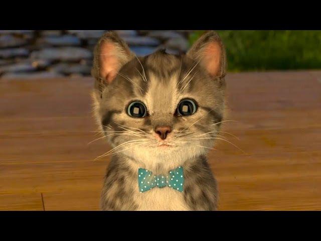 МИ-МИ-МИШКИ РАЗВЛЕКАТЕЛЬНОЕ ВИДЕО для детей СИМУЛЯТОР котика Мой Маленький КОТЕ...