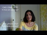 LEARN ITALIAN fast and easy! HOW ARE YOU? (with subtitles). Come stai?