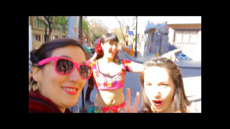 ATS Flash Mob World Wide 2017 La Clandestina, Santiago Chile