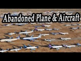 Destroyed Military Aircraft & Planes. Abandoned Fighter Jets. Aircraft Wrecks. Military Vehicles