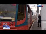 Четыре трамвайных маршрута возобновили движение по Садовому мосту в Краснодаре