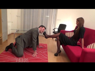 THALIA The Phantom of the Opera part 2 Shoe Domination foot, licking, humiliation, femdom, fetish, feet worship, soles