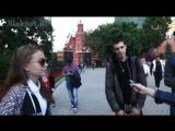 Опрос недавних школьников в Москве о Второй Мировой Войне.