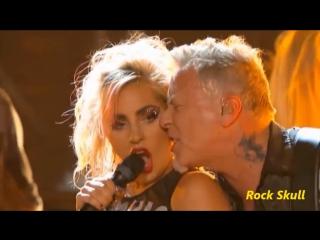Metallica & Lady Gaga - Moth Into Flame (Grammys 2017)