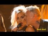 Metallica &amp Lady Gaga - Moth Into Flame (Grammys 2017)